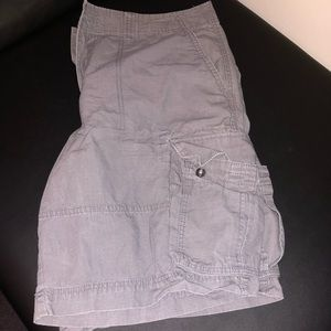 Mens mossimo supply company cargo shorts size 38